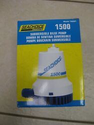 1,500 Gph Electric Submersible Bilge Pump For Boats With 1-1/8 Hose Outlet