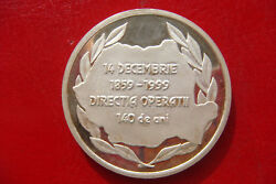 Romania Statul Major General 140 Years Direction Of Military Operations Medal