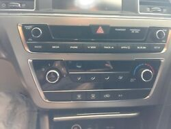 SONATA Heater AC Temperature Climate Control wnavigation manual  OEM