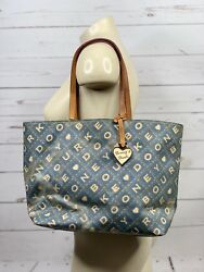 Dooney & Bourke {Blue Rope Logo Design Shoulder Bag}. Cute!