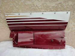 Cessna 340a And Other Twin R/h Outboard Upper Cowl Door And Lower Exhaust Panel Door