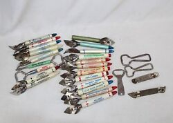 Vintage Collection Of 27 Advertising Bottle Openers - Chevrolet, Pepsi, Grocery