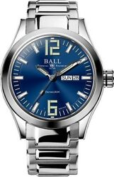 New Genuine Ball Watch Ø43mm Engineer Iii King Blue Dial Nm2028c-s12a-be