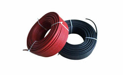 12 Awg Photovoltaic Wire Solar Panel Pv Cable 600v Lengths 250' To 1000'