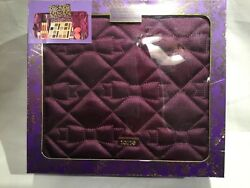 NEW TARTE EYE SHADOWS PLUS HIGH PERFORMANCE NATURALS TRAVEL MAKEUP BAG INCLUDED