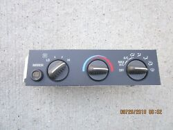 02 - 07 CHEVY EXPRESS 1500 2500 AC HEATER CLIMATE TEMPERATURE CONTROL 9375825