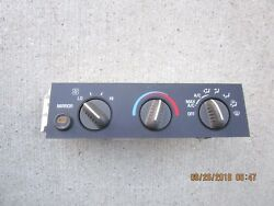 02 - 07 CHEVY EXPRESS 1500 2500 AC HEATER CLIMATE TEMPERATURE CONTROL 15858577