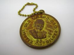 Vintage Keychain Charm Old Grand Dad Bourbon Whiskey 86 Proof