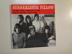 Jefferson Airplane Surrealistic Pillow +3-france 7 67 Rca Victor 45t.86.560 Ep