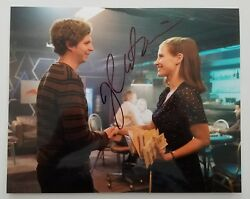 Jessica Chastain Signed Mollyand039s Game 8x10 Metallic Photo The Help Actress Rad