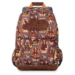 Disney Store Star Wars Story Han Solo Book Bag Lando Nest Backpack Adults NEW $29.95