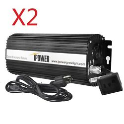 iPower 1000W Digital Dimmable Electronic Ballast 2-Pack