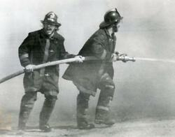 Firefighters Featured In The Hartford Courant Press Photo 09/05/80