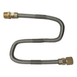 2ft Propane Natural Gas Line Stainless Steel Flexible Hose Lp Lpg Grill Part