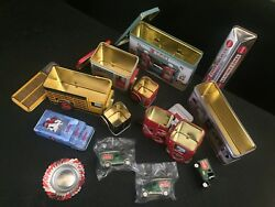 Coca Cola Tin Collection/playing Cards/ashtray