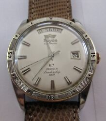 Rare Vintage Royce Automatic Leadership 1100 Day Date Watch 57 Jewels