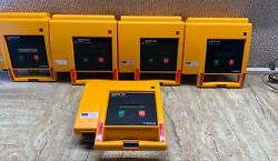 Lifepak 500 Biphasic - Lot Of 5- Tested For Power On.