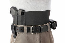 Elastic Gun Holster - Fits Any Gun - 6 Wide In Black Or White - Usa Made Ccw