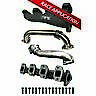PPE 116111101 Race Hi-Flow Exhaust Manifold wUp-Pipes For 01-15 GM Duramax 6.6L