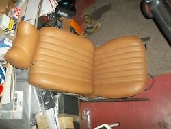 72-82 Mercedes 350 450 Sl Right Side Seat Bamboo Color Good Condition