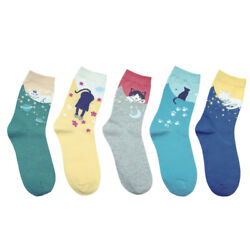 15Pairs Fashion Women Lovely Cute Cat Socks Animal Cartoon Cotton Ankle Socks