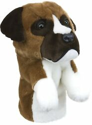 Daphne's Boxer Dog Headcover Driver Golf Head Cover