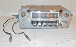 1965 1966 Mustang Fastback Coupe Convertible Gt Shelby Gt350 Orig Am Dash Radio
