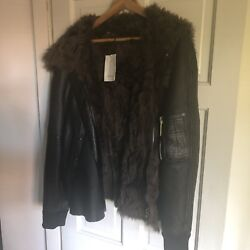 Paul Smith Shearling And Fur Jacket Very Rare