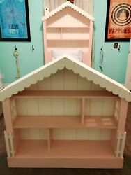 Handmade Custom Dollhouse Bed By English Farmhouse - Excellent Condition