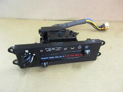 Heater Control Climate Panel JEEP Wrangler TJ 1997-1998 with Air Conditioning