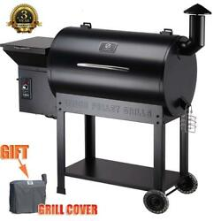 Z Grills Zpg-7002b 2021 Upgrade Wood Pellet Grilland Smoker 8 In 1 Bbq Grill+cover