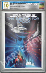 2018 Star Trek The Search For Spock Silver Foil - Cgc 10 Gem Mint First Release