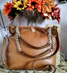 Women's Med Brown Leather