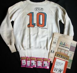 Vtg 60s Sweatshirt Pixies Newspaper Comic Strip Cartoon 10 Nothing W/o You Wohl