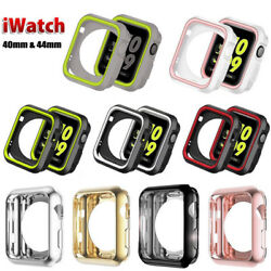 iWatch Silicone Protective Case Bumper Cover For Apple Watch Series 5 4 4044mm