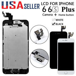 For iPhone 6S 6 Plus LCD Touch Screen Full Replacement With Home Buttonamp;Camera
