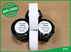 50 Roll Of 30320, Large Address Labels Dymo® Labelwriter® Duo 400 450 Twin Turbo