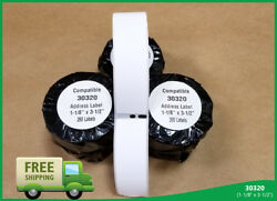 Dymo® Labelwriter® Duo 400 450 Twin Turbo 50 Roll Of 30320 Large Address Labels