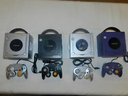Nintendo Gamecube Console System Complete Tested Warranty - You Pick Color