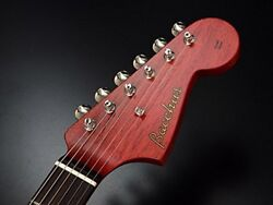 Bacchus BJM - 60 E ALL MAHO RED Olectric guitar backus