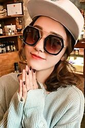Generic [Special Events] a loss of impulse sunglasses women girls lady influx of