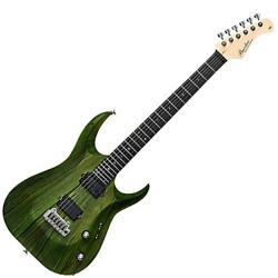 Bacchus GRACE-AT / BW GRN / OIL-BN Green Oil ? Burner Electric Guitar Custom Se