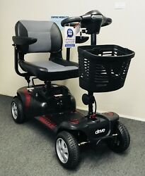 Drive Phoenix Hd 4 Wheel Scooter / Free Delivery/ Peace Of Mind Protection Plan