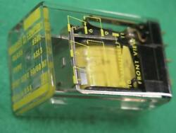SQUARE D 8501 K13 A GENERAL PURPOSE RELAY CONTACTS 3PDT10A 120VAC COIL 11 BLADE