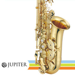 New Jupiter Jas700a Eb Alto Gold-lacquered Body Student Saxophone With Abs Case