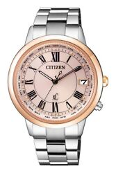 Citizen xC Eco Drive Global Radio-Controlled Ladies Watch CB1106-51W