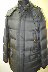 New Brioni Gray Quilted Down Jacket Coat Water Repellent Size 2xl Us 56 Eu