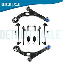 Front Lower Control Arms + Sway Bars Tierods For 2013 2014 2015 2016 Dodge Dart
