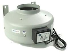 Tjernlund M-6 Inline Duct Booster Fan Hydroponic Blower Heat Air Conditioning V