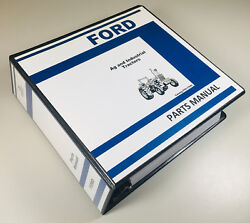 Ford 3600v 3600n 3600r 3600-no Tractor Ag Industrial Parts Manual Catalog